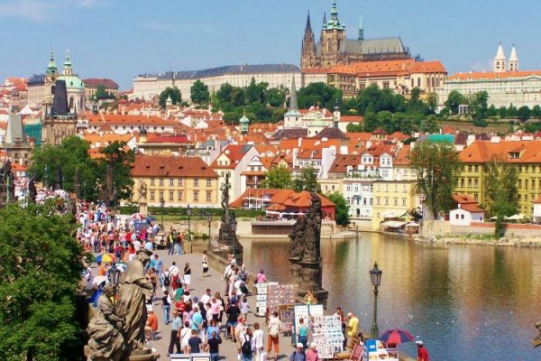 Prague Tourist Information and Prague Sightseeing Tours – Tourist Map of Prague